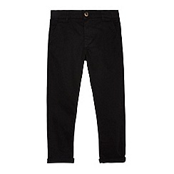 bluezoo - Boys' black chinos