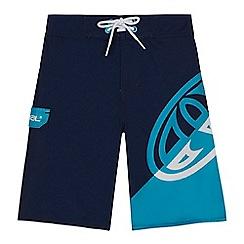 Animal - Boys' navy logo swim shorts