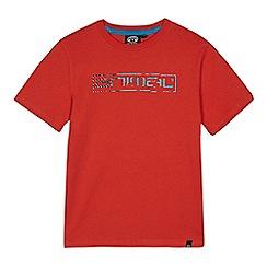 Animal - Boys' orange logo print t-shirt