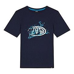 Animal - Boys' navy logo print t-shirt