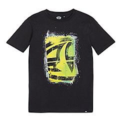 Animal - Boys' black logo print t-shirt