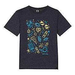 Animal - Boys' navy printed t-shirt