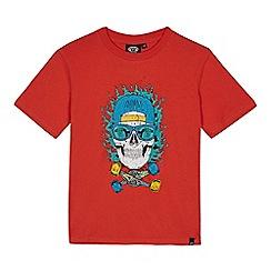 Animal - Boys' orange skull print t-shirt