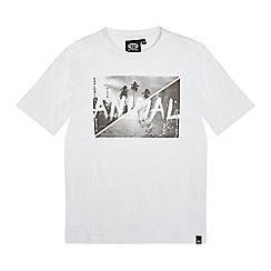 Animal - Boys' white logo print t-shirt
