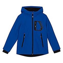 bluezoo - 'Boys' blue shower resistant jacket