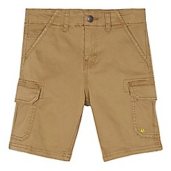 Mantaray - Boys' tan cargo shorts