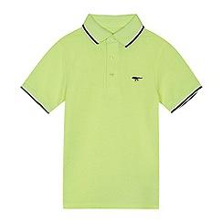 bluezoo - Boys' yellow tipped polo shirt