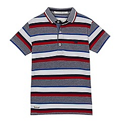 J by Jasper Conran - Boys' multicoloured striped polo shirt