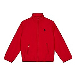 U.S. Polo Assn. - Boys' red funnel neck jacket