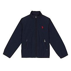 U.S. Polo Assn. - Boys' navy funnel neck jacket
