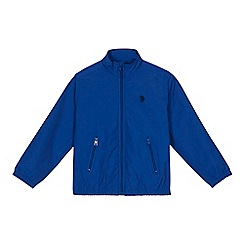 U.S. Polo Assn. - Boys' blue funnel neck jacket