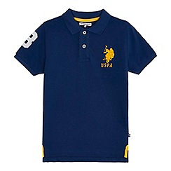 U.S. Polo Assn. - 'Boys' navy polo shirt