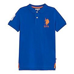 U.S. Polo Assn. - 'Boys' blue polo shirt