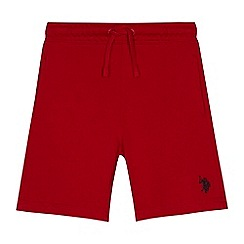 U.S. Polo Assn. - Boys' red sweat shorts