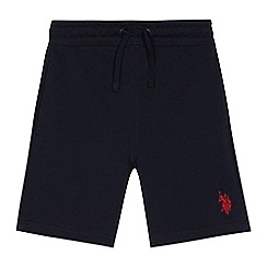 U.S. Polo Assn. - Boys' navy sweat shorts