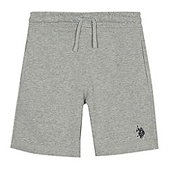 U.S. Polo Assn. - Boys' grey sweat shorts