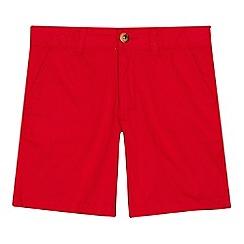 U.S. Polo Assn. - 'Boys' red chino shorts