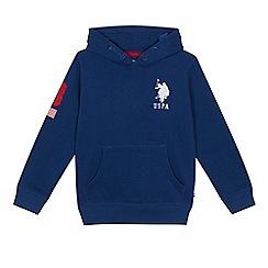 U.S. Polo Assn. - 'Boys' navy long sleeve hoodie
