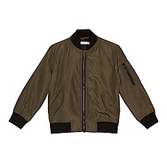 bluezoo - Boys' khaki bomber jacket