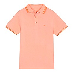 bluezoo - 'Boys' orange polo shirt