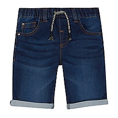 bluezoo - 'Boys' navy denim shorts