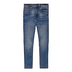 Mantaray - Boys' blue vintage wash denim skinny jeans