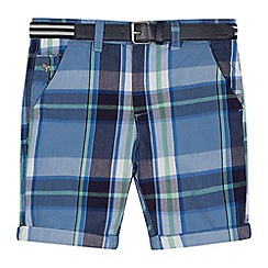 J by Jasper Conran - 'Boys' blue checked shorts