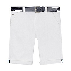 J by Jasper Conran - 'Boys' white chino shorts