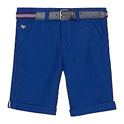 J by Jasper Conran - 'Boys' blue Oxford shorts