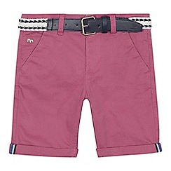 J by Jasper Conran - 'Boys' pink chino shorts