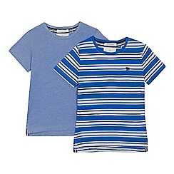 J by Jasper Conran - '2 pack boys' blue t-shirts