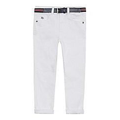 J by Jasper Conran - 'Boys' white slim fit chinos