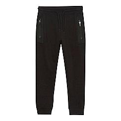 bluezoo - Boys' black mesh insert jogging bottoms