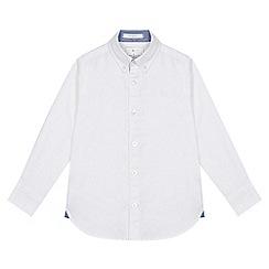 J by Jasper Conran - 'Boys' white button down collar Oxford shirt
