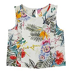 Angel and Rocket - 'Girls' multi-coloured floral print top