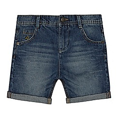 Angel and Rocket - 'Boys' blue mid wash denim shorts