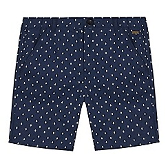 Angel and Rocket - Boys' navy printed shorts
