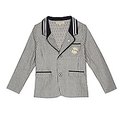 Angel and Rocket - Boys' blue striped jacket