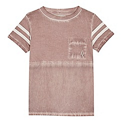 Angel and Rocket - 'Boys' pale purple t-shirt