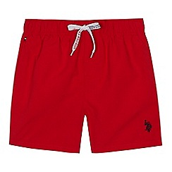 U.S. Polo Assn. - Boys' red swim shorts