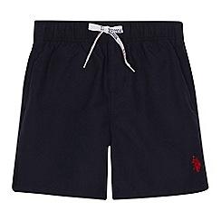 U.S. Polo Assn. - Boys' navy swim shorts