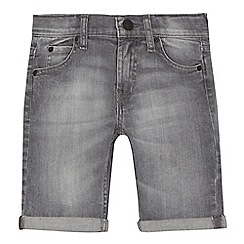 Levi's - Boys' grey denim 511 'Bermuda' slim shorts