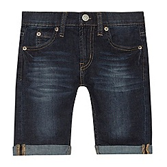 Levi's - Boys' dark blue '511' slim fit denim shorts