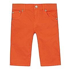 Levi's - Boys' orange 510 'Bermuda' skinny shorts