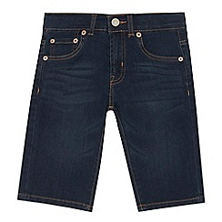 Levi's - Boys' dark blue '510' skinny fit denim shorts