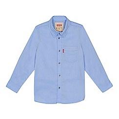 Levi's - Boys' blue Oxford shirt