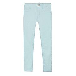 Levi's - 'Boys' aqua 710 super skinny jeans