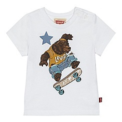 Levi's - Baby boys' white 'Teddy' t-shirt