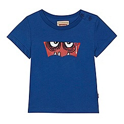 Levi's - Baby boys' blue monster print t-shirt