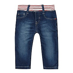 Levi's - 'Baby girls' blue striped waistband jeans